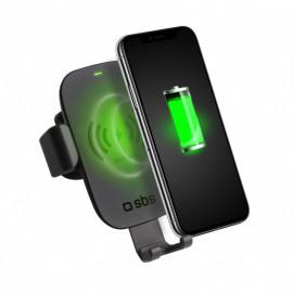 SBS Wireless Gravity Smartphone Autohalterung 10W