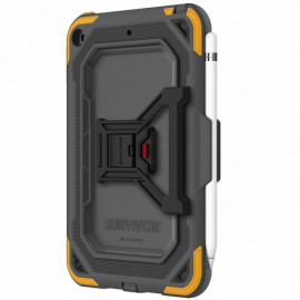 Griffin Survivor All-Terrain Case iPad Mini 5 grijs