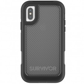 Griffin Survivor Extreme Case iPhone X schwarz