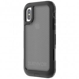 Griffin Survivor Extreme Case iPhone X schwarz