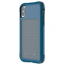 Griffin Survivor Fit Case iPhone X blau