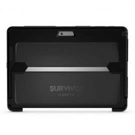 Griffin Survivor Slim Case Microsoft Surface Pro 4 grau/schwarz