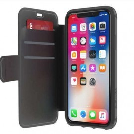 Griffin Survivor Strong Wallet iPhone X / XS schwarz/dunkelgrau