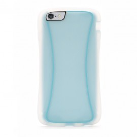 Griffin Survivor Slim iPhone 6(S) Plus transparant/blauw