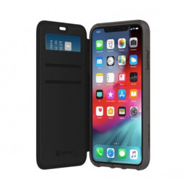 Griffin Survivor Clear Wallet iPhone 11 klar / schwarz