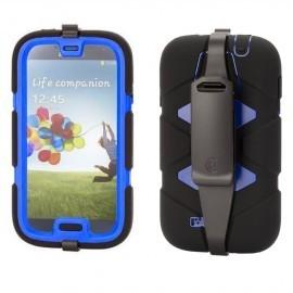 Griffin Survivor Samsung Galaxy S4 schwarz/blau