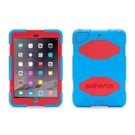 Griffin Survivor Hardcase iPad Mini 1/2/3 Blau-Rot