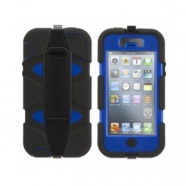 Griffin survivor case iPhone 5 blau