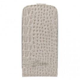 Crocodile Galaxy S3 Flip Case Beige