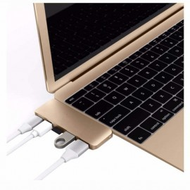 HyperDrive USB-C 5-in-1 Hub USB 3.1 Gold