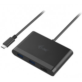 i-Tec USB C naar 4K HDMI, 2x USB 3.0 en USB C adapter
