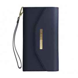 iDeal of Sweden Mayfair Clutch Wallet case iPhone 11 Blau