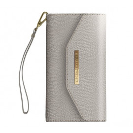 iDeal of Sweden Mayfair Clutch Wallet case iPhone 11 grau