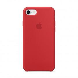 Apple Silikon Hülle iPhone 7 / 8 / SE 2020 rot
