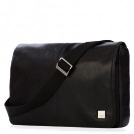 Knomo Kinsale Messenger Bag für Herren 13 Zoll schwarz