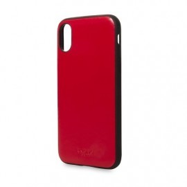 Knomo iPhone X Snap On Case chili-rot