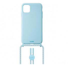Laut Pastels Case mit Band iPhone 12 / 12 Pro blau