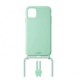 Laut Pastels Case mit Band iPhone 12 / iPhone 12 Pro grün