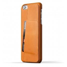 Mujjo wallet leren case 80 iPhone 6 Plus bruin