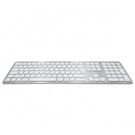 Macally Slim Bluetooth Tastatur QWERTY UK Weiß