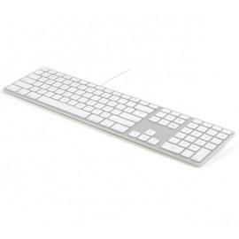 Matias Bedraad RGB Toetsenbord QWERTY voor MacBook zilver