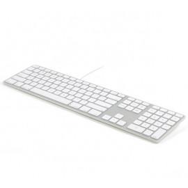 Matias Bedraad Toetsenbord QWERTY voor MacBook zilver