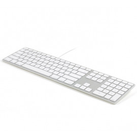 Matias Bedraad RGB Toetsenbord AZERTY voor MacBook zilver