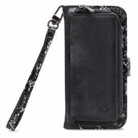 Mobilize 2-in-1 Gelly Wallet Zipper Case Samsung Galaxy A51 schwarz / snake