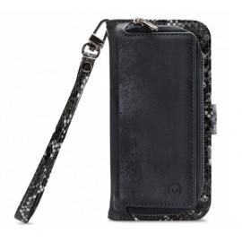 Mobilize 2in1 Gelly Wallet Zipper Case iPhone 11 schwarz / snake