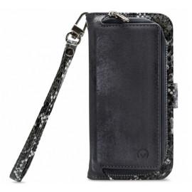 Mobilize 2in1 Gelly Wallet Zipper Hülle iPhone 12 Pro Max Schwarz / Snake
