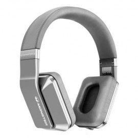 Monster Inspiration over-ear koptelefoon wit/zilver