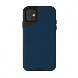 Mous Contour Lederhülle iPhone 11 blau