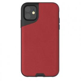 Mous Contour Lederhülle iPhone 11 rot