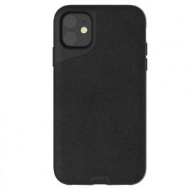 Mous Contour Lederhülle iPhone 11 schwarz