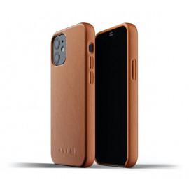 Mujjo Lederhülle iPhone 12 Mini braun