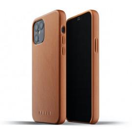 Mujjo Lederhülle iPhone 12 / iPhone 12 Pro braun