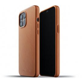 Mujjo Lederhülle iPhone 12 Pro Max braun
