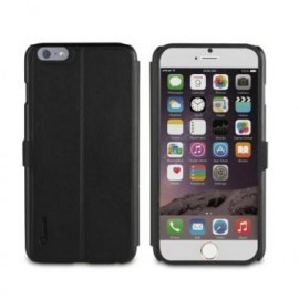 Muvit Full Window Front Stand Case iPhone 6(S) schwarz