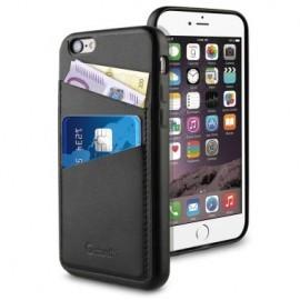 Muvit Leatherette Back Case iPhone 6(S) schwarz