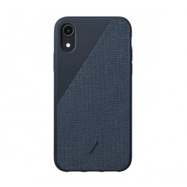 Native Union Clic Canvas case iPhone XR Blau