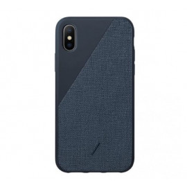 Native Union Clic Canvas case iPhone XS Max Blau