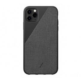 Native Union Clic Canvas Case iPhone 11 Pro Max schwarz