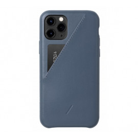 Native Union Clic Card Case iPhone 11 Pro blau