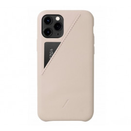 Native Union Clic Card Case iPhone 11 Pro rosa