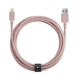 Native Union Kevlar Belt Lightning Kabel 3m rosa