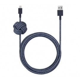 Native Union Kevlar Night Lightning Kabel 3m blau