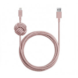 Native Union Kevlar Night Lightning kabel 3m rosa