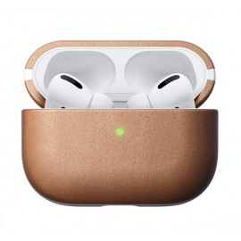 Nomad AirPods Pro Case Natural Leather beige