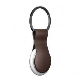 Nomad AirTag Leather Loop braun