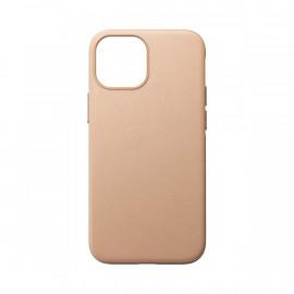 Nomad Modern Lederhülle MagSafe iPhone 13 Mini natural